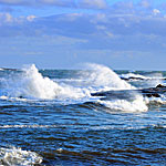 Maine Landscape Photography�Schoodic Waves