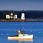 Maine Landscape Photography� Prospect Harbor Lighthouse